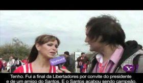 A amiga paraguaia do Neymar