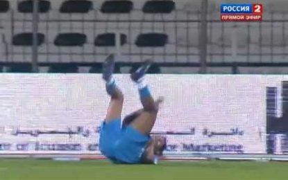 Danny (Zenit) falha golo de forma incrível