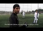 Aula de futebol com Kun Aguero