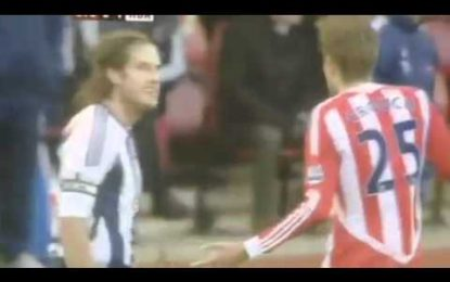 Peter Crouch abre os olhos a Olsson