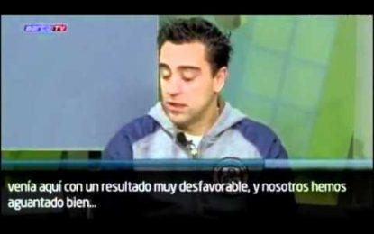 """Xavi: """"Os de Madrid não sabem perder"""""""