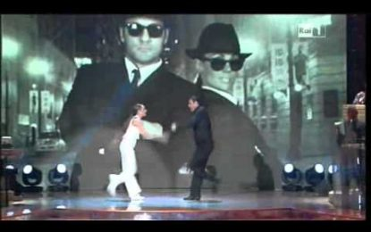 Christian Vieri dança na TV