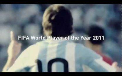 Adidas comemora Bola de Ouro de Messi