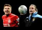 Mancini e Gerrard discutem