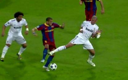Pepe: Top 5 de agressões