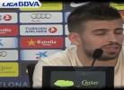 Piqué fala sobre Pepe