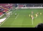 Jay Rodriguez: penalty completamente falhado