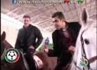 Carlos Queiroz a cavalo no Irão