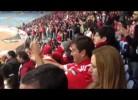 Adepto do Benfica dá show de macacadas