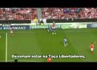 Comentadores ingleses sugerem Benfica na Libertadores