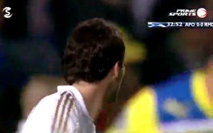 Falhanço do dia: Benzema