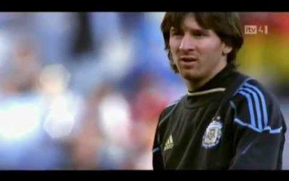 O melhor documentário sobre Lionel Messi
