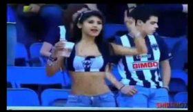 Fã da equipa Monterrey do México