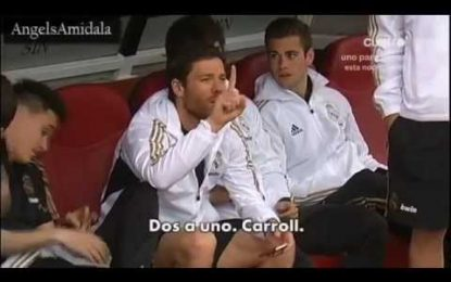 Alonso informa Mourinho