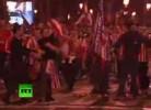 Caos em Madrid durante festejos do Atlético
