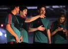 Nani, Dzeko e Cleverly no novo anúncio da Adidas