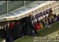 Treinador da Fiorentina perde a cabeça