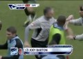 Joey Barton vs Tevez e Aguero