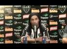 Ronaldinho apresentado no Atlético-MG