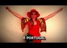 Os hinos de apoio a Portugal