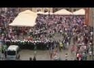 Croatas e Irlandeses em confrontos