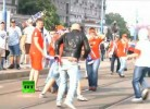 Adeptos da Rússia voltam a atacar