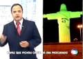 Vândalos pintam monumento no Brasil com o nome errado de Ronaldinho