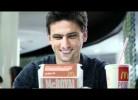 Hélder Postiga em campanha da McDonald's