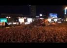 Cem mil polacos celebram empate