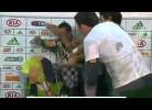 Scolari ganha Copa do Brasil e leva com festejos em cima