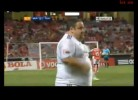 Fernando Mendes no jogo contra a fome