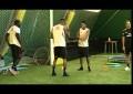 Robinho e Boateng dançam no treino do Milan