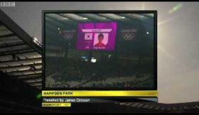Erro nos Jogos Olímpicos atrasa jogo
