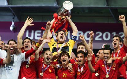 Espanha continua a reinar na Europa