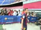 Jordi Alba apresentado no Barcelona