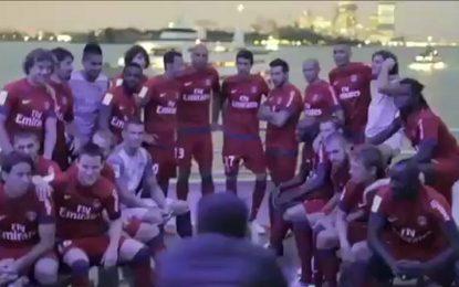PSG apresenta novo equipamento e Ibrahimovic
