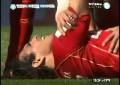 Lesão grave no futebol argentino