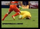 Lesão grave na Copa Mexico