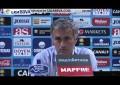 Mourinho indignado com atitude dos jogadores