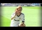 Modric apresentado em Madrid