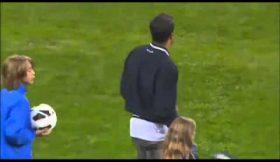 Emoção de Júlio César na despedida do Inter