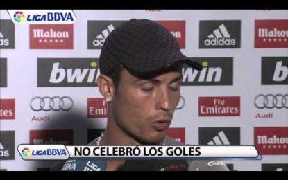 Cristiano Ronaldo está triste em Madrid