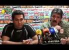 Toni eneverva-se em conferência de imprensa no Irão