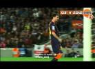 Messi apanhado a agredir jogador do Celta