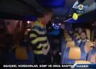 Kuyt e Gönül dançam Gangnam Style no autocarro