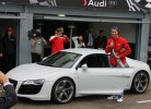 Real Madrid presenteado com carros da Audi