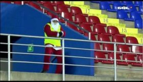 Stewards do Levante viciados no Gagnam Style