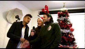 Jogadores do AC Milan arruinam hit de Natal