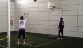 Higuaín recupera com bola de basquetebol