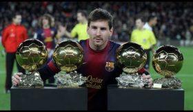 Barcelona assinala renovação de Messi com vídeo